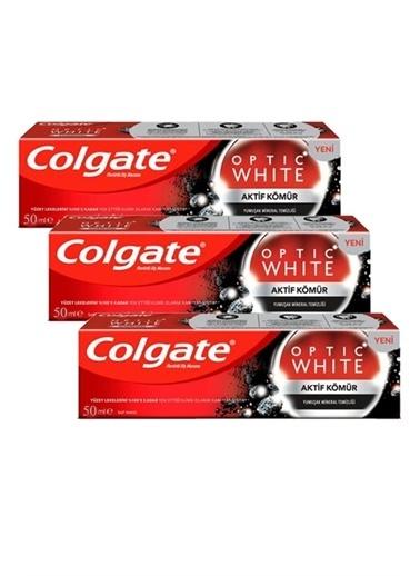 Colgate Optic White Charcoal Aktif Kömür D,RNKSZ Renksiz